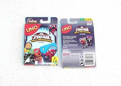 Marvel Ultimate Spider-Man Uno Card Game - Web Warriors