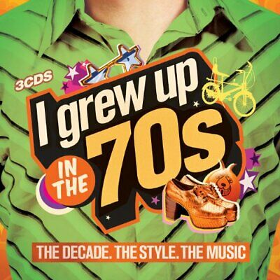 Various Artists - I Grew Up in the 70s - Various Artists CD S4VG The Cheap Fast