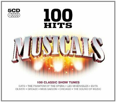Various Artists - 100 Hits: Musicals - Various Artists CD BSVG The Cheap Fast