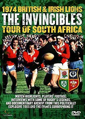 The Invincibles - The 1974 Lions Rugby Tour of South Africa [DVD] - DVD  L6VG