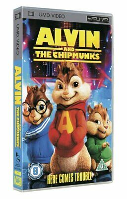 Alvin and the Chipmunks [UMD Mini for PSP] - DVD  A6VG The Cheap Fast Free Post