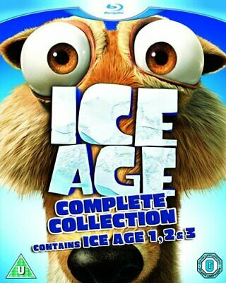 Ice Age 1-3 Collection [Blu-ray] - DVD  BUVG The Cheap Fast Free Post