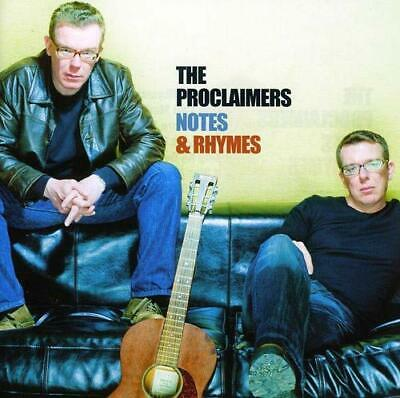Proclaimers - Notes & Rhymes - Proclaimers CD TAVG The Cheap Fast Free Post The