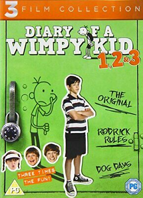 Diary Of A Wimpy Kid 1-3 [DVD] - DVD  BWVG The Cheap Fast Free Post