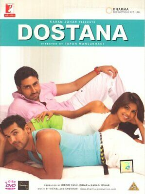 Dostana (2008) (Bollywood Movie / Indian Cinema / Hindi Film DVD/... - DVD  4YVG