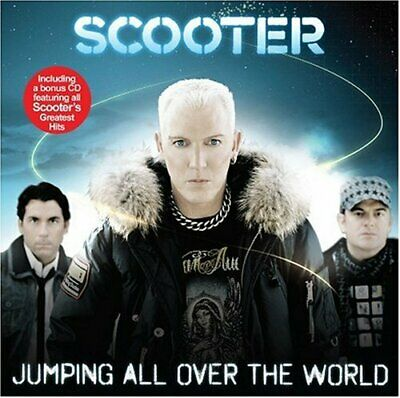 Scooter - Jumping All Over The World - Scooter CD 6CVG The Cheap Fast Free Post
