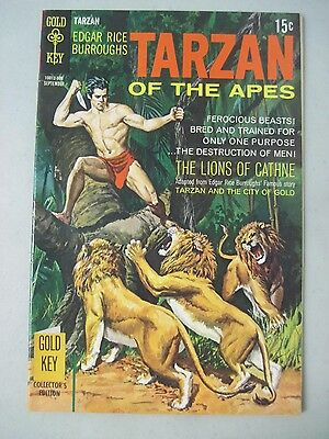 Tarzan Of The Apes #187 September 1969 Gold Key Comics The Lions Of Cathne