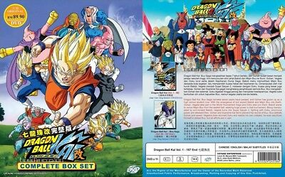 ANIME DVD~ENGLISH DUBBED~Dragon Ball Kai(1-167End)All region FREE SHIPPING+GIFT