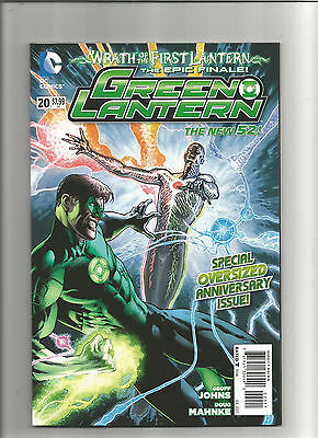 Green Lantern #20A (2011 4th Series) Special Oversized Anniversary Issue Unread!