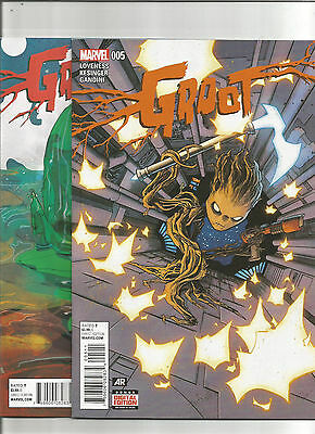 Groot #5 (Marvel 2015) Reg & Variant 1st Baby Groot! Guardians of the Galaxy NM
