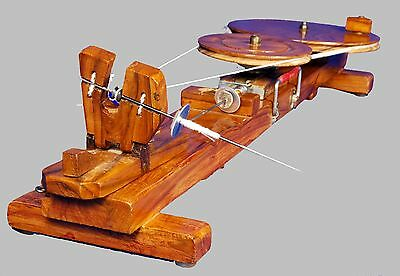 Traditional Kisan Charkha or spinning wheel crafted in India New
