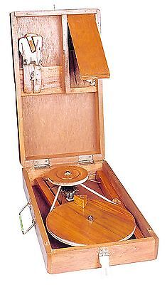Traditional Bigger Box Charkha or spinning wheel crafted in India New