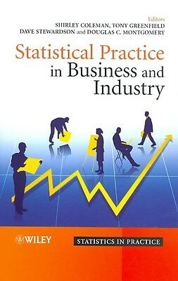 Statistical Practice in Business and Industry by Coleman Hardcover Book (English