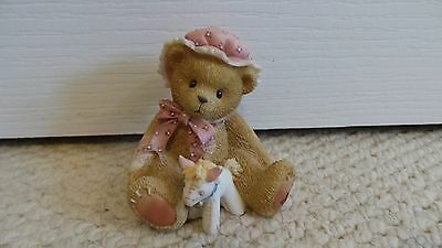 """Cherished Teddies"" ornament"