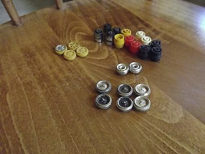 Old Scalextric Slot Car Wheels X 25