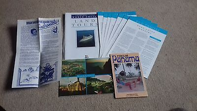 P&o Canberra World Cruise 1992 - Port Guide, Land Tours, Focus On Panama, Receur