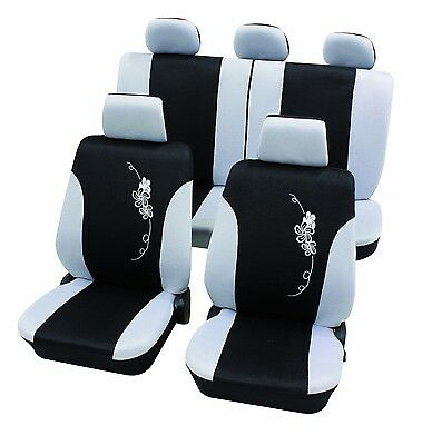 Fundas Universales Coche Asientos Cartrend Lowers Rosa weis