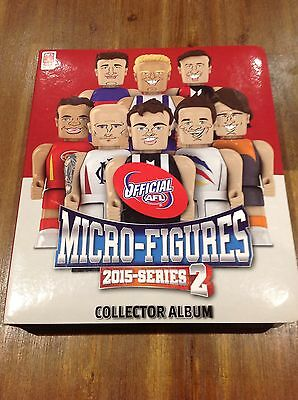 Official AFL 2015 Series 2 Micro Figures Collector Album