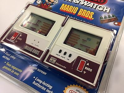 Nintendo GAME & WATCH MARIO BROS NEW OLD STOCK SEALED