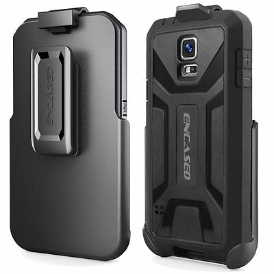 "Encased Samsung Galaxy S5 ""Hero Series"" Case Belt Clip (Quick-Release Holster)"