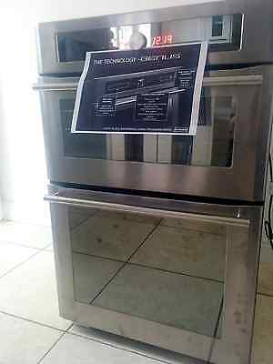 STOVES GENUS 900 Double Electric Oven Stainless Steel Build In