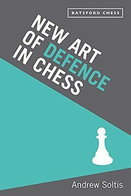 Art of Defence in Chess by Andrew Soltis New Paperback Book
