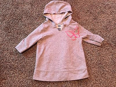 Old Navy Toddler Girl Hoodie - Size 3T - Gray And Pinks