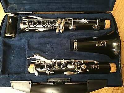 BOOSEY AND HAWKES REGENT  Bb CLARINET FULLY RECONDITIONED  / OVERHAULED