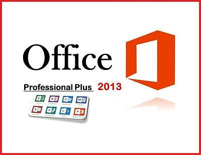 MS Office 2013 Professional PLUS Produkt Key Original Vollversion