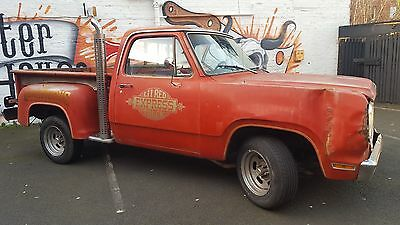 Dodge Lil Red Express Truck 1979