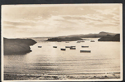 Wales Postcard - Sunset at Trearddur Bay   RS1635