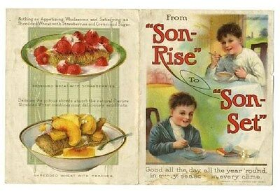From Son Rise to Son Set Shredded Wheat Uses and Benefits Brochure 1914