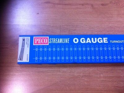 Peco 7mm O gauge Point SL-E786BH Right Hand Curved code 124 bullhead *Boxed*