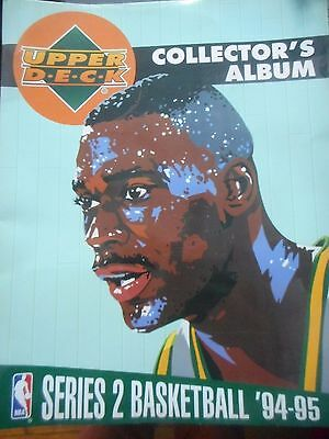 US NBA baseball cards 94-95 upper deck x77 cards and album
