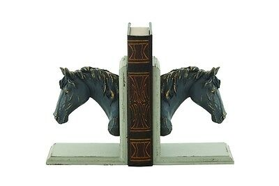 Cole & Grey Wood Plastic Book Ends Set of 2