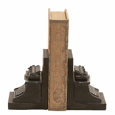 Cole & Grey Typewriter Book Ends Set of 2