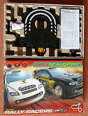 Micro Scalextric Rally Racers, set, 1:64