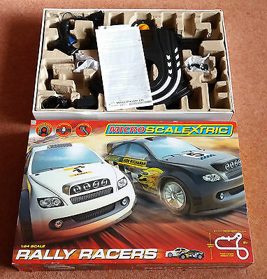 MICRO SCALEXTRIC Rally Racers Race Set, 1:64 Scale