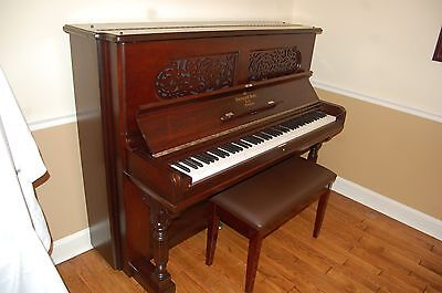 Steinway Upright Piano - Beautifully Restored Rosewood Case