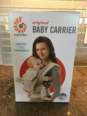 ergobaby original baby carrier, Luxe Natural Linen Fabric, Bnib, Never Opened