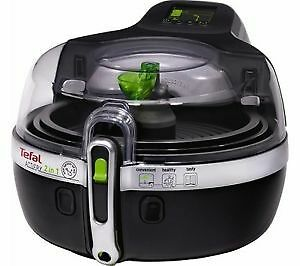 Excellent Condition Tefal YV960140 ActiFry 2-in-1 Low Fat Healthy Fryer, 1.5 kg