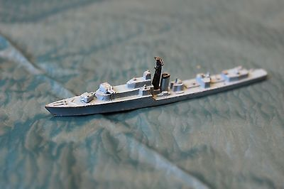 Triang minic ships Royal Navy HMS Alamein battleclass destroyer