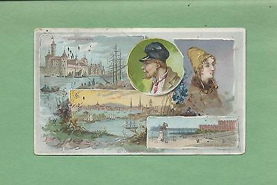 SCENES FROM STOCKHOLM, SWEEDEN On ARBUCKLE BROS. COFFEE Victorian Trade Card #2
