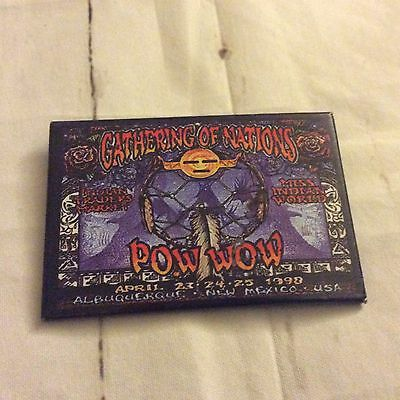 Gathering Of Nations 1998 New Mexico Pow Wow Pin