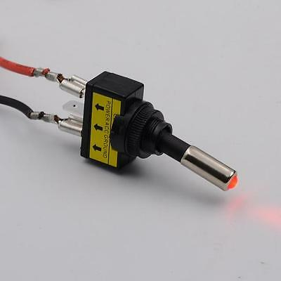 12V 20A-Auto-Red LED-Licht Toggle-Kippschalter 3 Pin SPST ON / OFF-Verkäufe