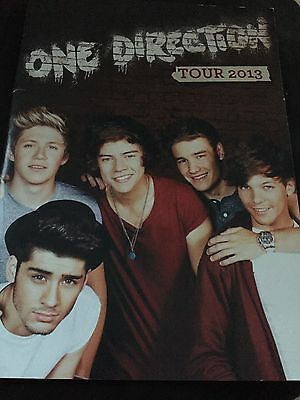 2013 One Direction World Tour - Official Programme