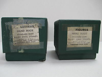 "Letter & Number Set (3/8"" size) Greenfield Hand Made Stamps"