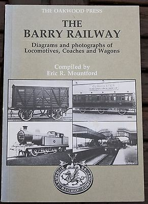 The Barry Railway, Diagrams And Photos Of Locomotives,coaches And Wagons,book
