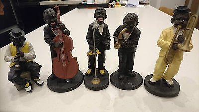 JAZZ BAND figurines 5 personnages