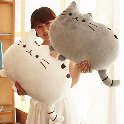 peluche chat 40*30 cm-chat-5 couleurs-peluche-gros-chat